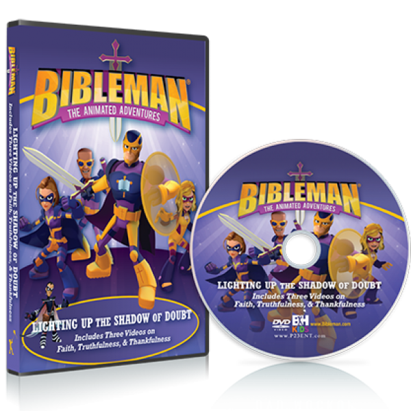 bibleman dvd - lighting up the shadow of doubt