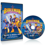 bibleman dvd - melting the master of mean
