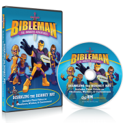 bibleman dvd - disabling the disobey ray