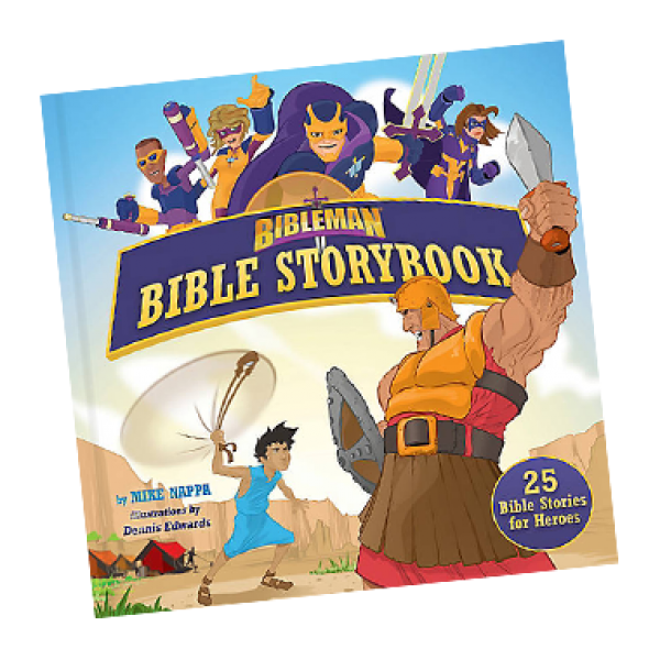 Bibleman Book bible storybook