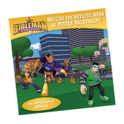Bibleman Book halting the hateful