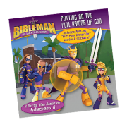 Bibleman Book putting on the full armor of god
