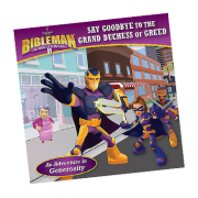Bibleman Book say goodbye to the grand duchess