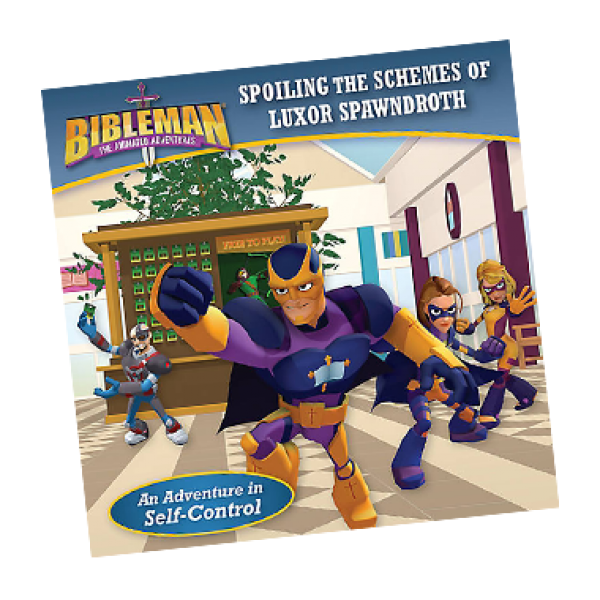 Bibleman Book spoiling the schemes