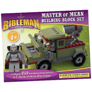 Bibleman building block set MASTER OF MEAN VAN